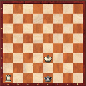 Knowing the end position is tricky enough, but the really difficult part is forcing the opponent against the edge of the board when they don't want to go there. But he did it.